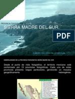Provincia Fisiografica Sierra Madre del Sur