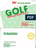 Bandai Golf (U)