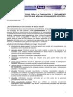 Parametros Practicos Evaluacion Tratamiento Ninos Adolescentes Abusadores