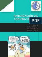 Investigacion Del Genoma Humano Exposicion