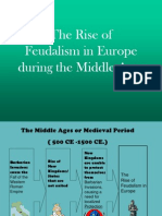 the rise of feudalism in europe