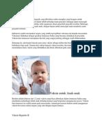 Pengertian Vaksin