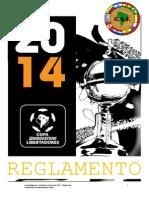 Reglamento Copa Bridgestone Libertadores 2014 1