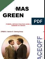 Thomas Green - Power and Politics