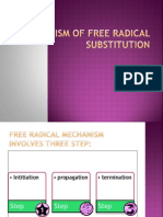 Mechanism of Free Radical Substitution