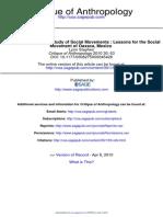 C_Karen Brodkin e o Estudo Dos Movimentos Sociais