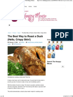 The Best Way to Roast a Duck