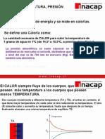 Temperatura y Calderas