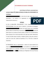 176445989 Proceso Ordinario de Filiacion y Paternidad