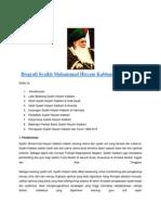Biografi Syaikh Muhammad Hisyam Kabbani Ar