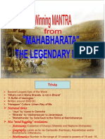 Mahabharata-A Management Perspective
