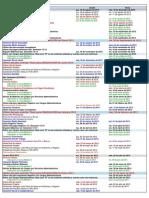 Calendario academico usfq