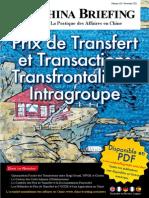 Prix de Transfert et Transactions Transfrontalières Intragroupe