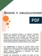 Bonos y Obligaciones Presentacion