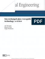 Ion-Exchanged Glass Waveguide Technology_a Review