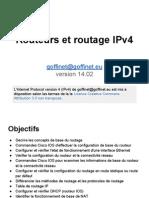 ICND1 0x09 Routeurs et Routage IPv4