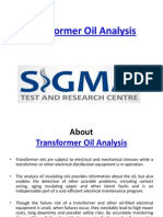Furan Analysis Of Transformer Oil
