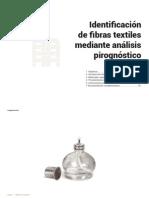 Identificacion de Fibras Textiles Mediante Analisis Pirognostico