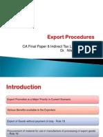 p 8 Ch 6 Export Procedures