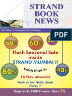 Strand Book News Nov 2013
