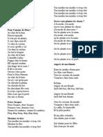 Cantecele Franceza
