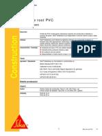 Benzi de Rost PVC