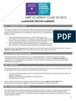 class of 2015 nomination forms