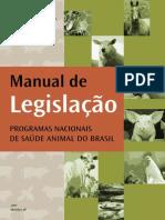 Manual - MAPA - de Legislação - Programas Nacionais de Saúde Animal do Brasil