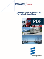 Eberspahcer Hydronic 10 Technical Manual