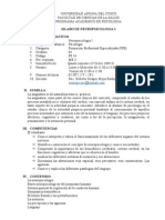 NEUROPSICOLOGIA I 2009-II