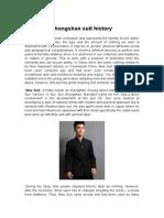 Zhongshan Suit History