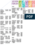 2014 Philippine Pharmacist National Convention Hotel List.