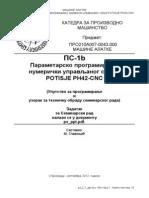 PH42 Cnc Prog Parametri
