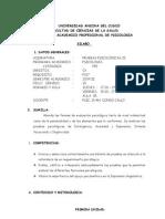 Pruebas Psicologicas II 2009-II