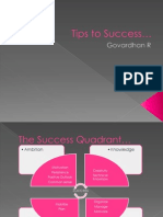 Tips to Success