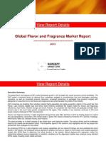Global Flavor & Fragrance Market Report