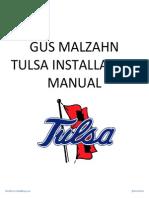 Malzahn Tulsa Install