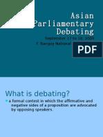 Asian Parliamentary Debating