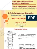 Thiele Geddes Method