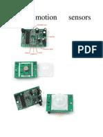 PIR Motion Sensors