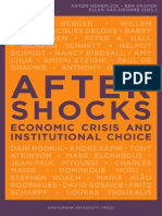 Aftershocks; Economic Crisis and Institutional Choice - Hemeijck [2009]