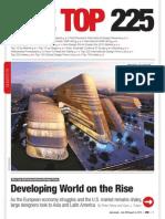 ENR the Top 225 International Design Firms 2013
