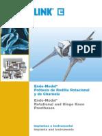 Protesis de Rodilla Endomodel