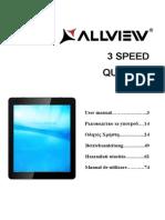 Allview 3 Speed Quad HD User Manual