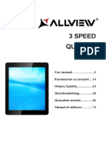 Allview 3 Speed Quad HD User Manual