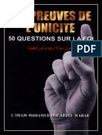 50 Question Reponse Aqida