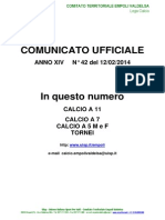 C.U.N.42 del 12-02-2014