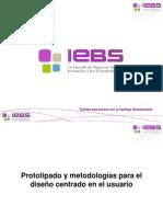 Webinar Prototipado y metodologías para el diseño centrado en el usuario