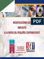 Material IRPC Modificaciones 2011