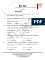 Jest 2012 Physics Paper